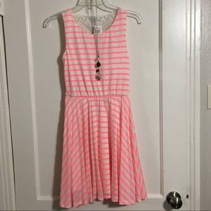 NWT Delia's sz XS stripped dress